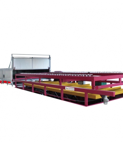 Swimming pool automatic forming machine