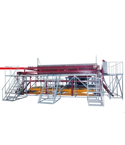 Large Outdoor Cylinder Forming Machine