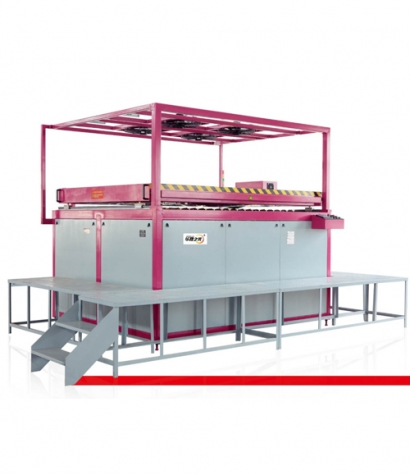 Single-station automatic forming machine