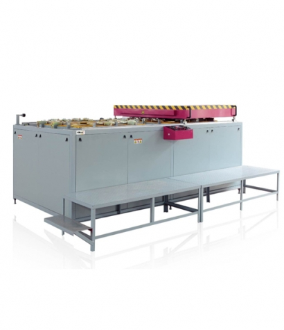 Double station automatic forming machine